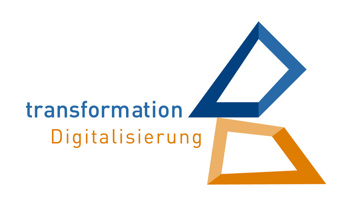 "Logo der Transformationskonferenz ""Digitalisierung"""