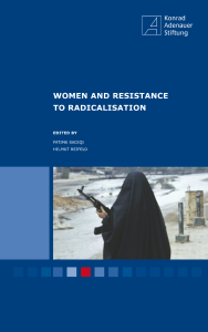 Women And Resistance To Radicalisation