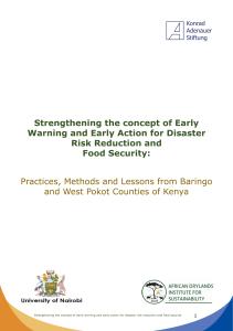 Konrad-Adenauer-Stiftung - Kenya Office - Strengthening the