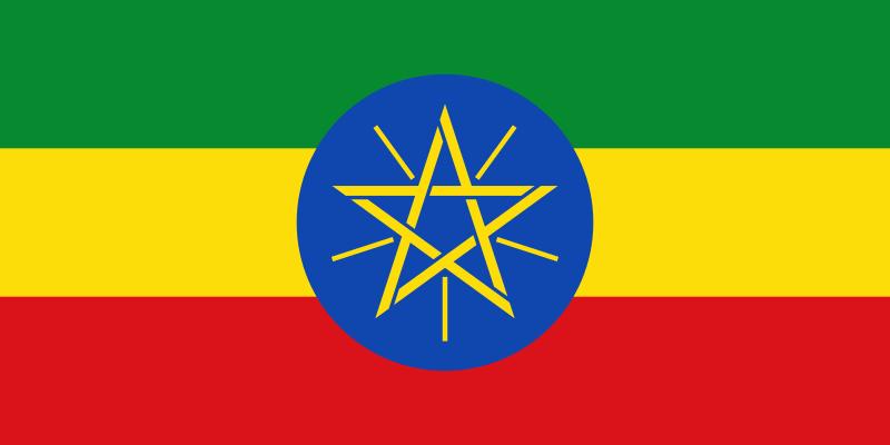 Flagge Äthiopiens