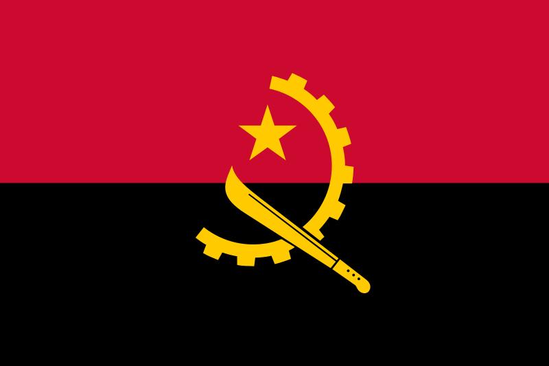 Flagge Angolas