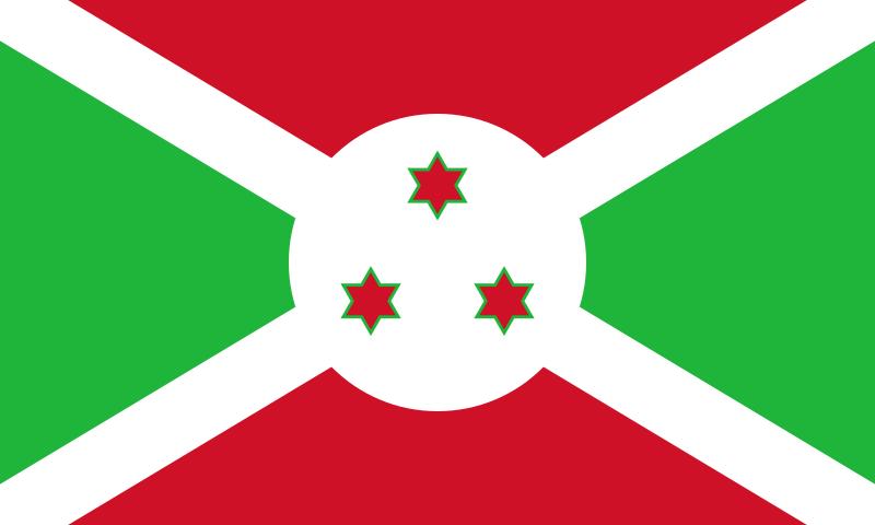 Flagge Burundis