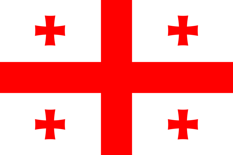 Flagge Georgiens