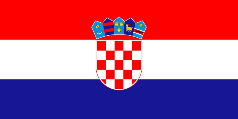Flagge Kroatiens