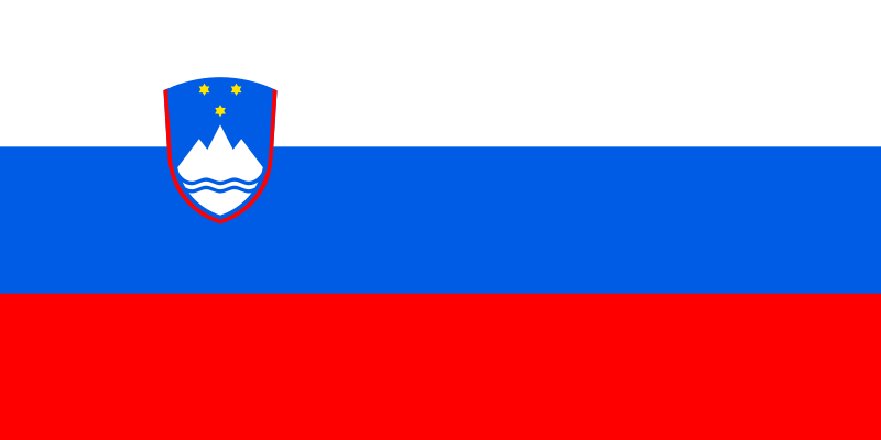 Flagge Sloweniens