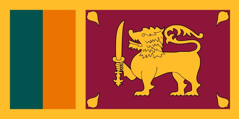 Flagge Sri Lankas