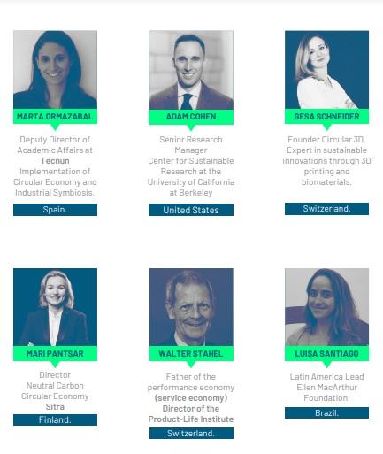 Conferencistas internacionales que harán parte del Congreso