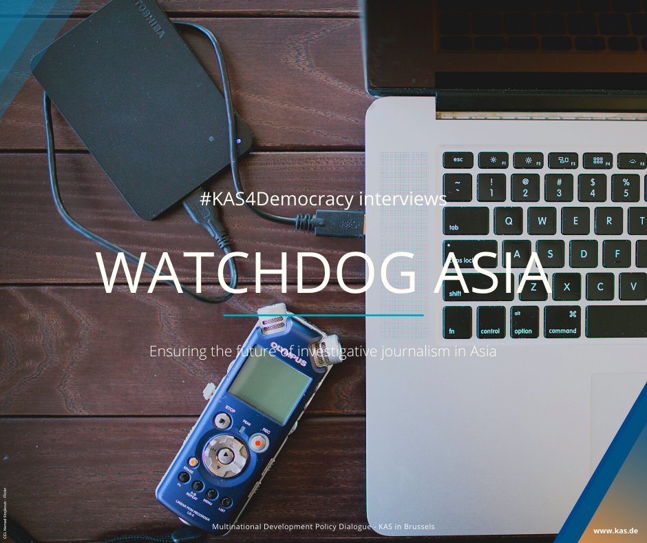 Watchdog Asia Interviews - social media campaign cover