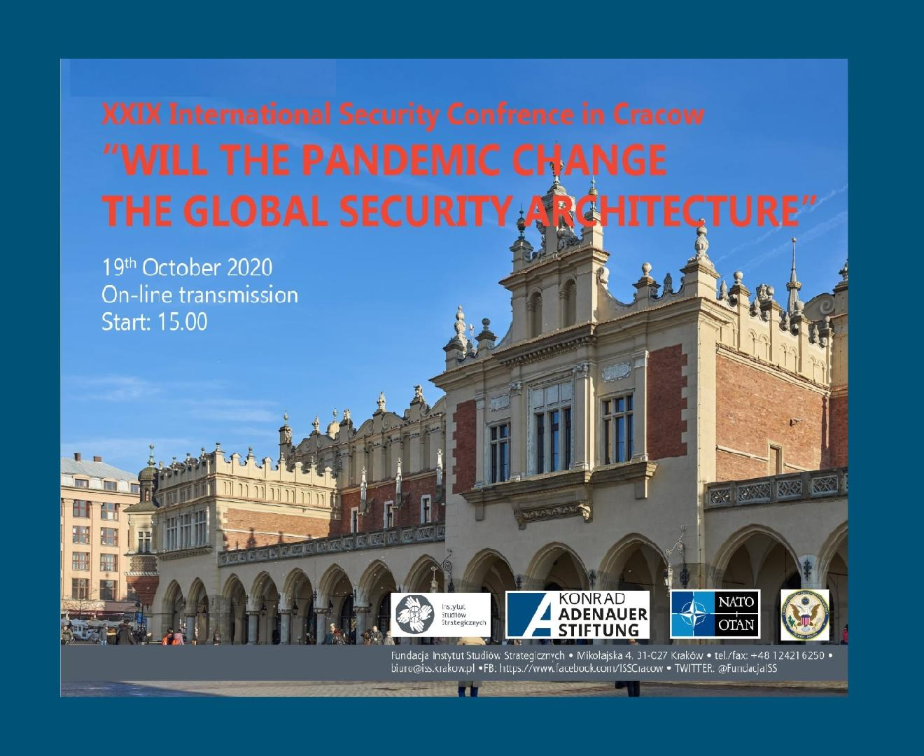 ISS International Security Conference 2020_plakat_blau