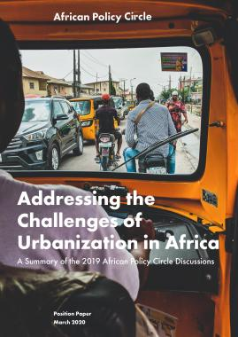 Addressing the Challenges of Urbanization in Africa