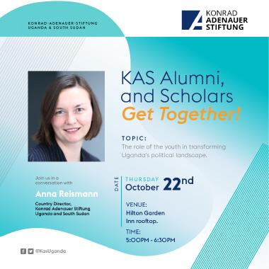 KAS Alumni Poster for October 20