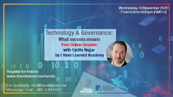 Technology & Governance: What Success Means - Free Online Session