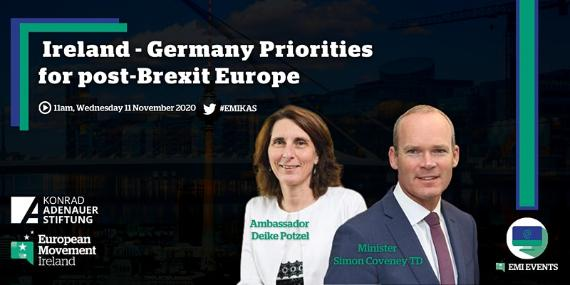 Ireland & Germany's Priorities in post-Brexit Europe