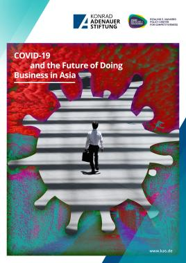 Cover picture for new publication COVID-19 and the Future of Doing Business in Asia