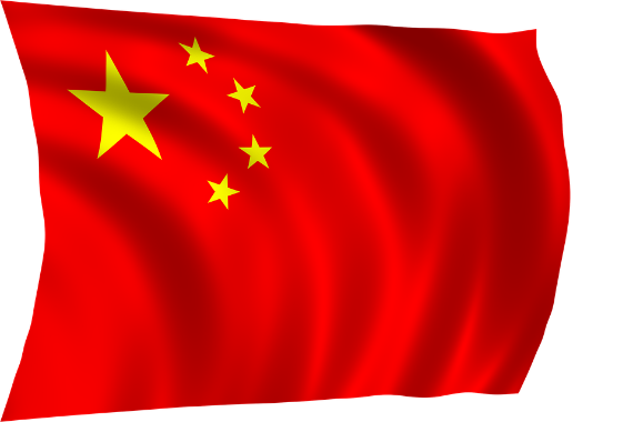 Flagge Volksrepublik China