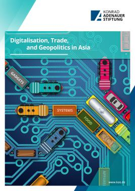 Digitalisation, trade, and geopolitics in Asia cover