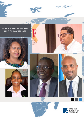 Perspectives by Eminent African jurists and thought-leaders on the status of the rule of law in Africa in 2020