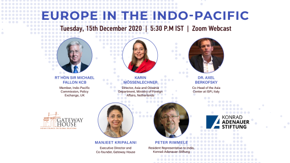 Gateway House-KAS Diginar on Europe in the Indo-Pacific