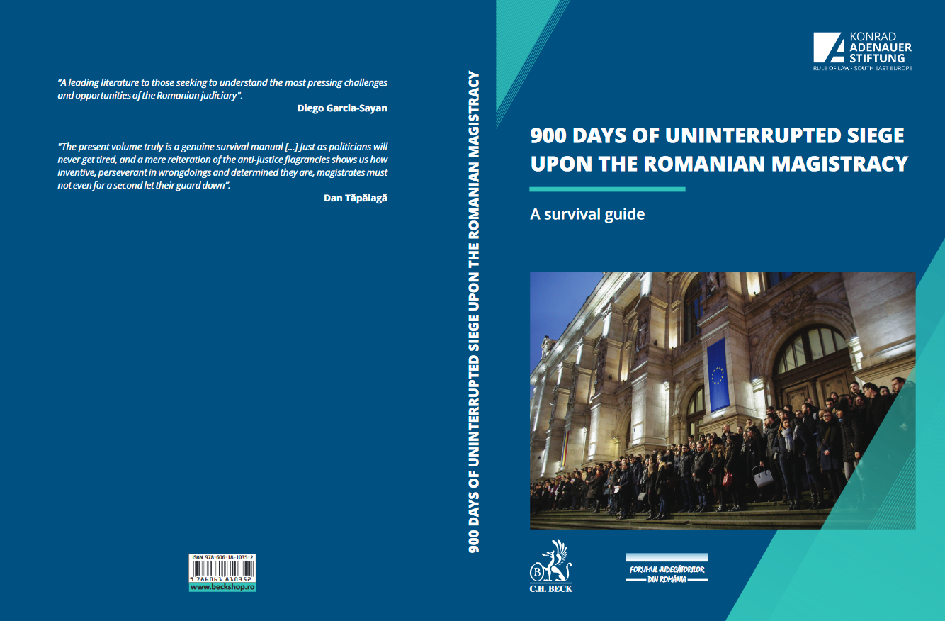 900 days of uninterrupted siege upon the Romanian Judiciary
