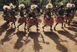Igbo Dancers celebrating the New Yam