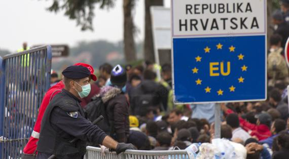 Migrants and Refugees at the Croatian EU border