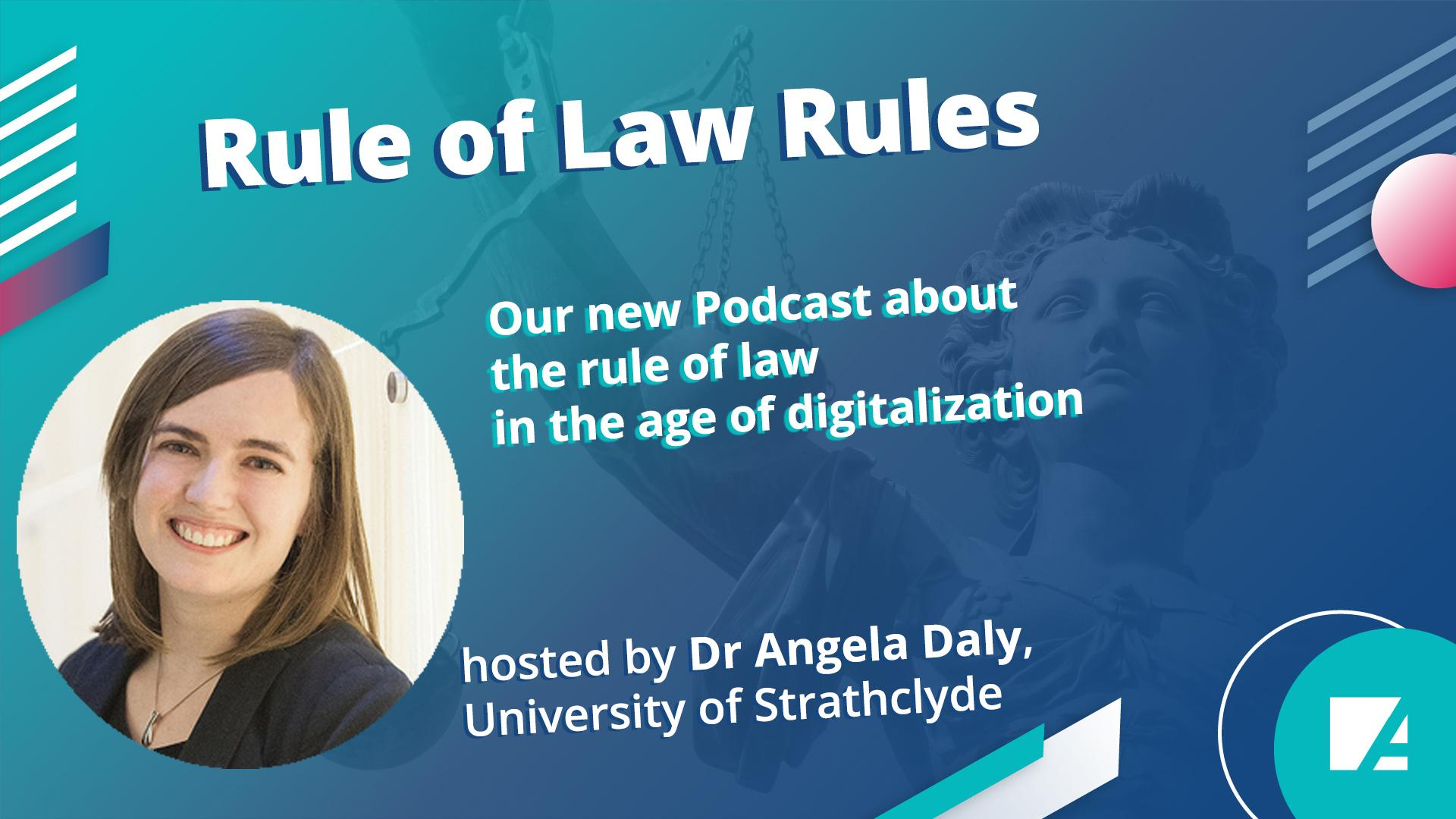 Podcast host Dr Angela Daly