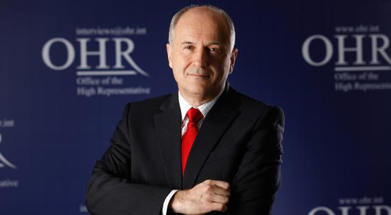 Valentin Inzko, Office of the High Representative (OHR)