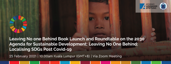 Localising SDGs Post Covid-19 and Leaving No One Behind Book Launch