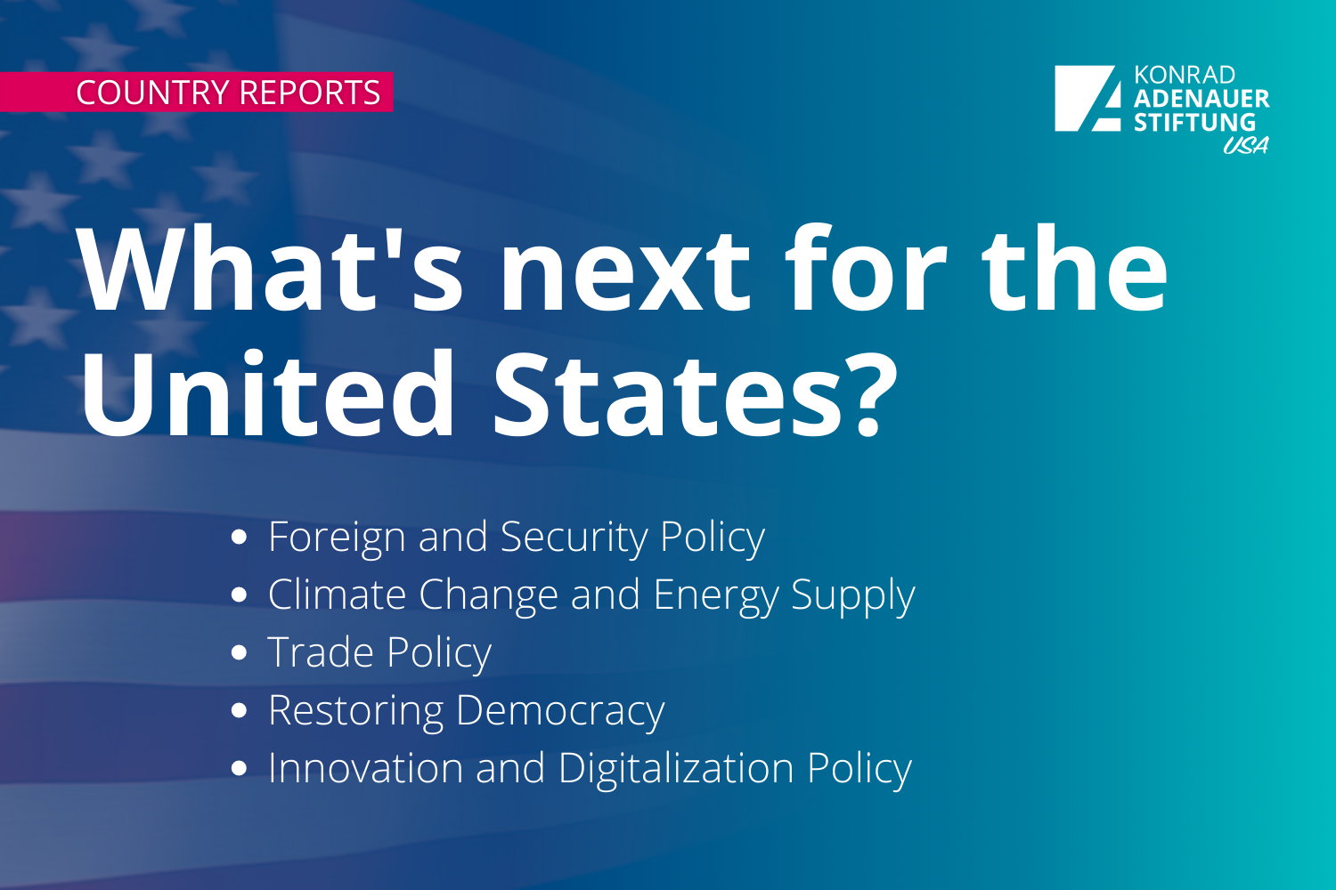 Country Reports: What's next for the United States?