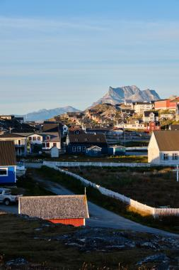 Nuuk sunset