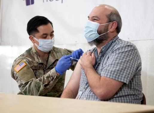 Oregon National Guard Covid-19 Vaccination
