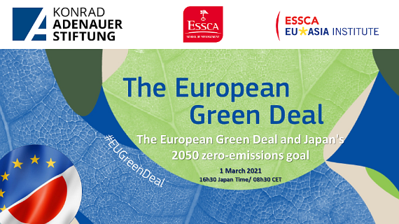 The European Green Deal and Japan's 2050 Zero-Emissions Goal
