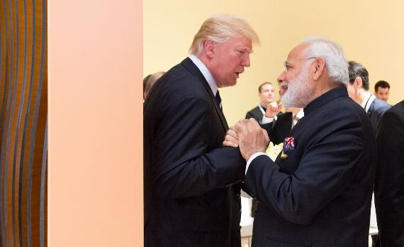 Donald Trump und Narendra Modi | Foto: Flickr/The White House/gemeinfrei