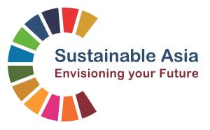 Logo of the Sustainable Asia webinar