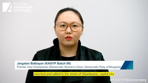 Interview with Ms Jargalan Batbayar of Mongolia