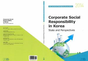 Corporate Social Responsibility in Korea: State and Perspectives