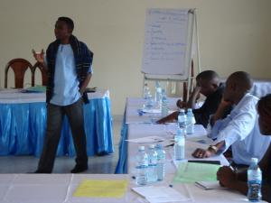 Training Workshop for Journalists, Fort Portal August