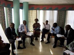 DP-NEC Group work at policy workshop