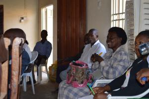Lively discussion during the Masaka workshop