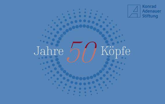 50 Jahre - 50 Köpfe (Cover)