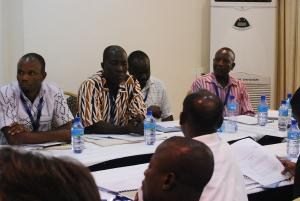 Participants from Ghana's NPP Party at the Voter Communication Workshop v_2