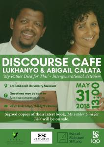 Discourse Café with Lukhanyo and Abigail Calata