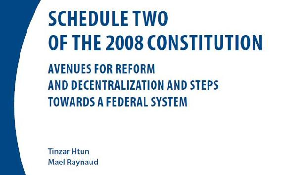 Schedule Two of the 2008 Constitution