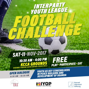 Interparty Youth Platform soccer challenge