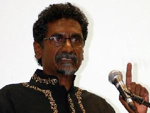 Jay Naidoo hält die Van Zyl Slabbert Honorary Lecture am 16. April 2014.