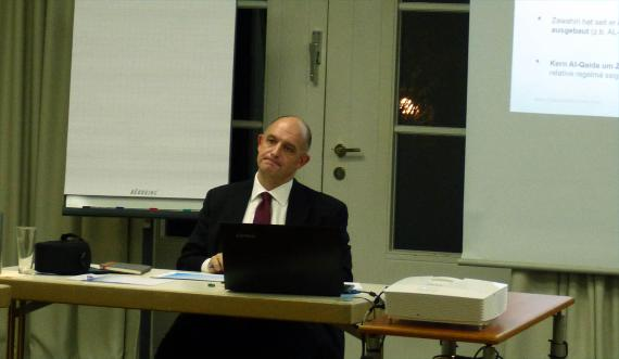 Dr. Hans-Jakob Schindler, Senior Director des Counter Extremismus Project, New York