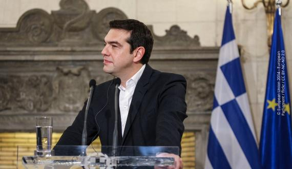 Griechenlands Premierminister Alexis Tsipras. | © European Union 2014 - European Parliament / flickr / CC BY-NC-ND 2.0