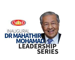 Dr Mahathir Mohamad Leadership Series