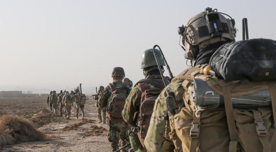 US Special Forces in Syrien | Public Domain-Foto des US-Militärs
