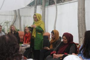 Women in the Afghan Peace Process: How to implement Gender-Inclusive and Gender-Sensitive Peace Talks?